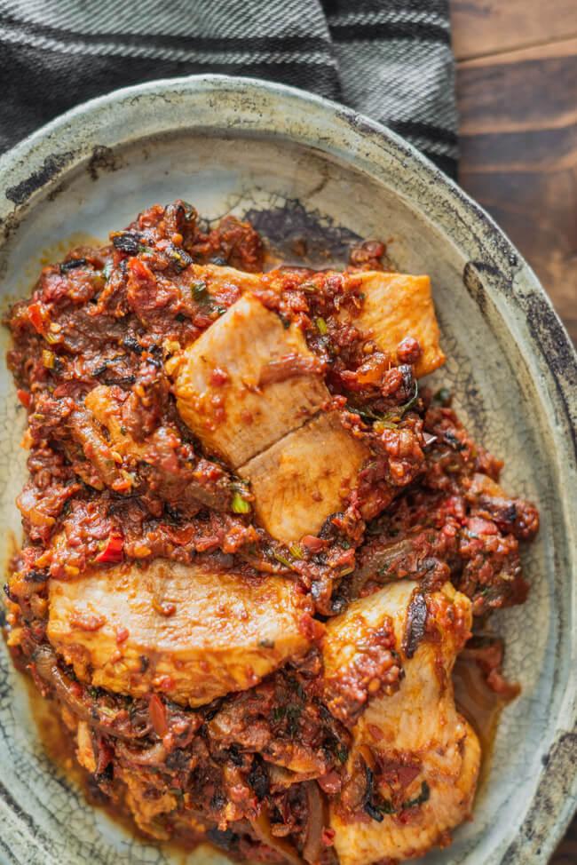 Masala Fish Fisch Masala aus Kitchen Impossible indisch Curry Kenyan Sauce Brilliant Restaurant Christian Lohse Tim Mälzer London Depna Anand Notrh indian Punjab Nordindisch