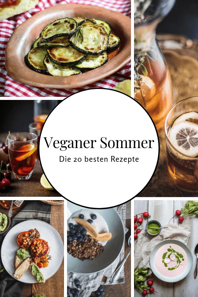 Veganer Sommer   Die 20 besten Rezepte