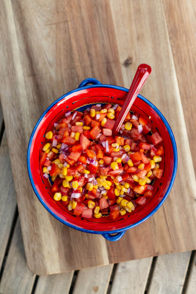 Mexico Salat Mexiko vegan