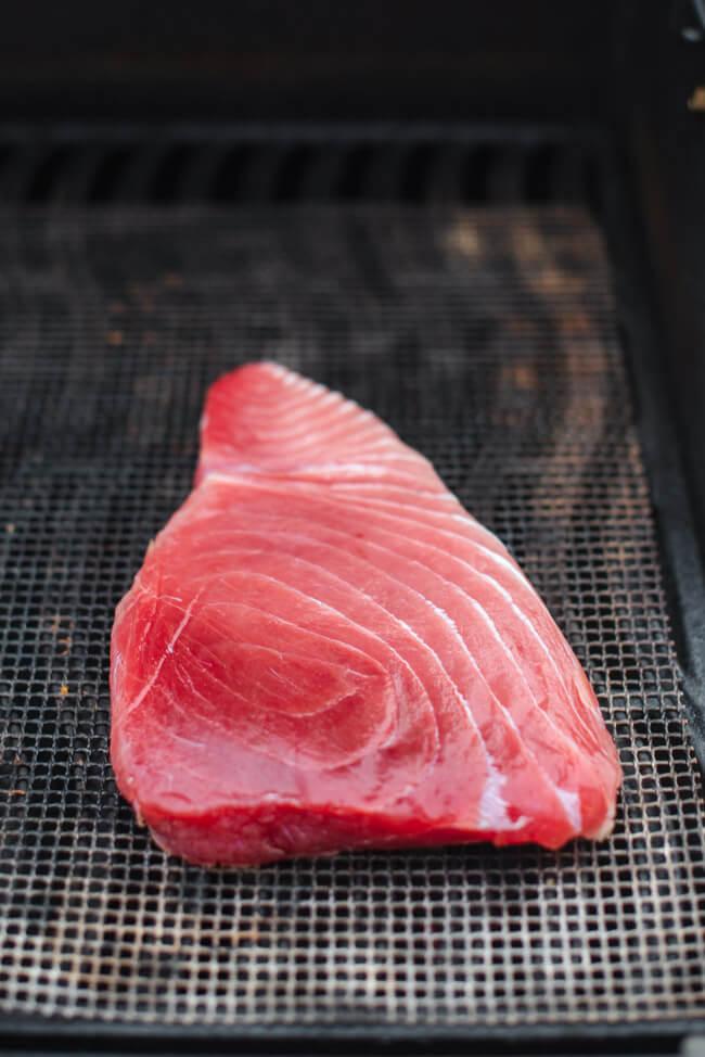 Thunfisch Steak Tuna Fisch gesund