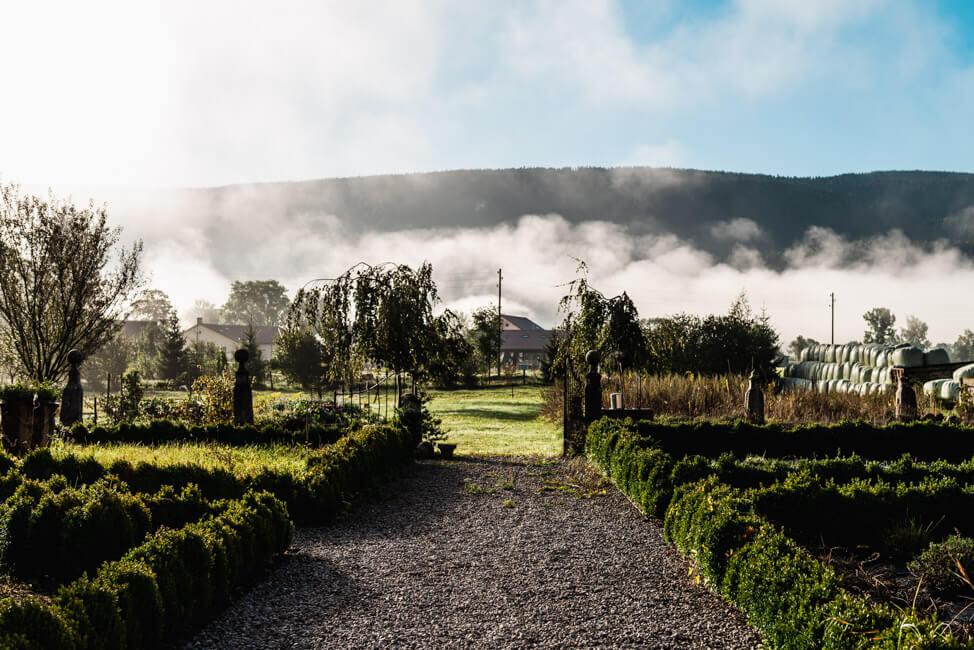 Wermuth Garten Absinth Val de Travers