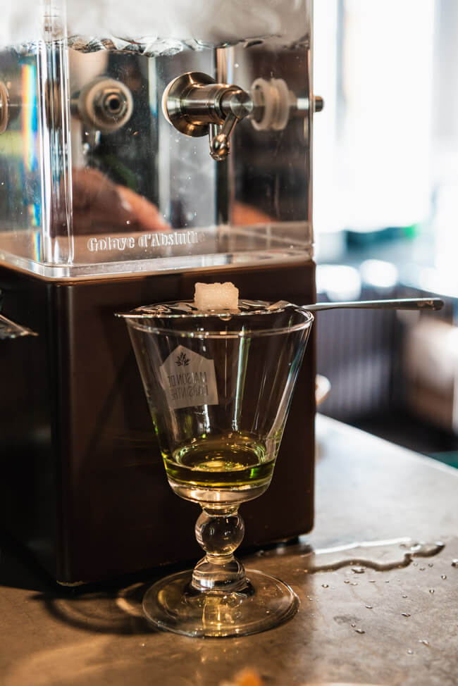 Absinth Degustation