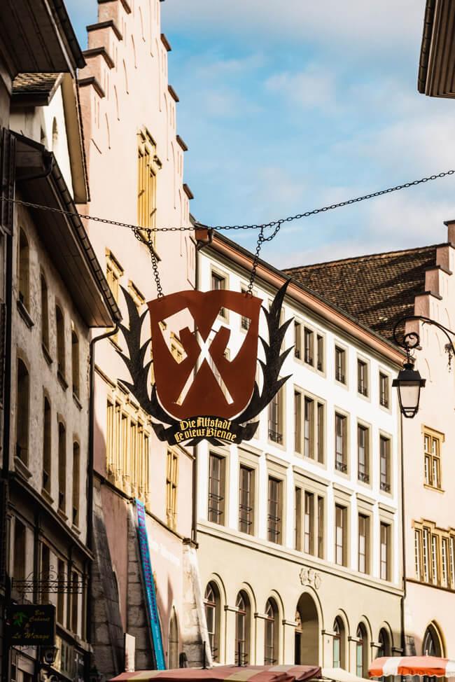 Biel Bienne Stadtrundgang Altstadt