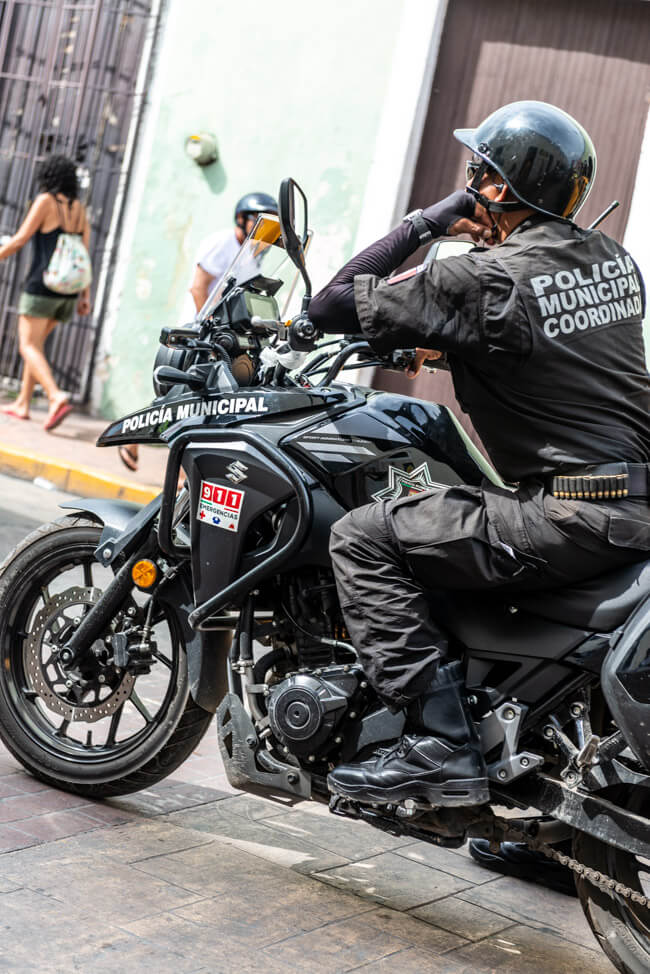 Valladolid korrupte Polizei Mexiko Policia Municipal Coordinada