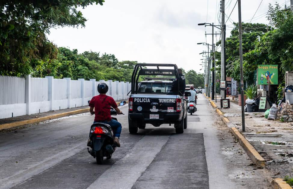 Isla Mujeres korrupte Polizei Mexiko Policia Municipal Coordinada