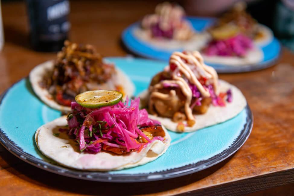 Isla Holbox Mexiko Karibik Streetfood Barba Negra beste Tacos Foodtruck