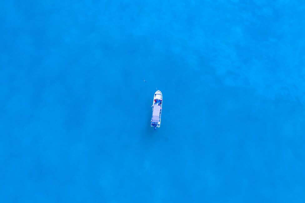 Isla Holbox Mexiko türkisblaues Meer Karibik Cabo Catoche Bootstour Ausflug