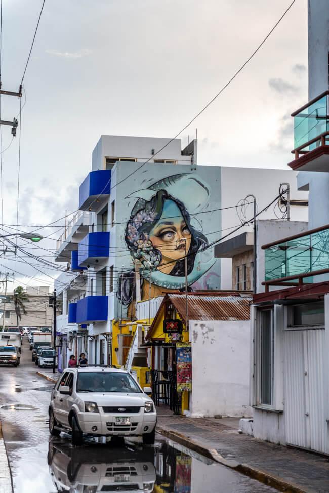 Mexiko Isla Mujeres Streetart