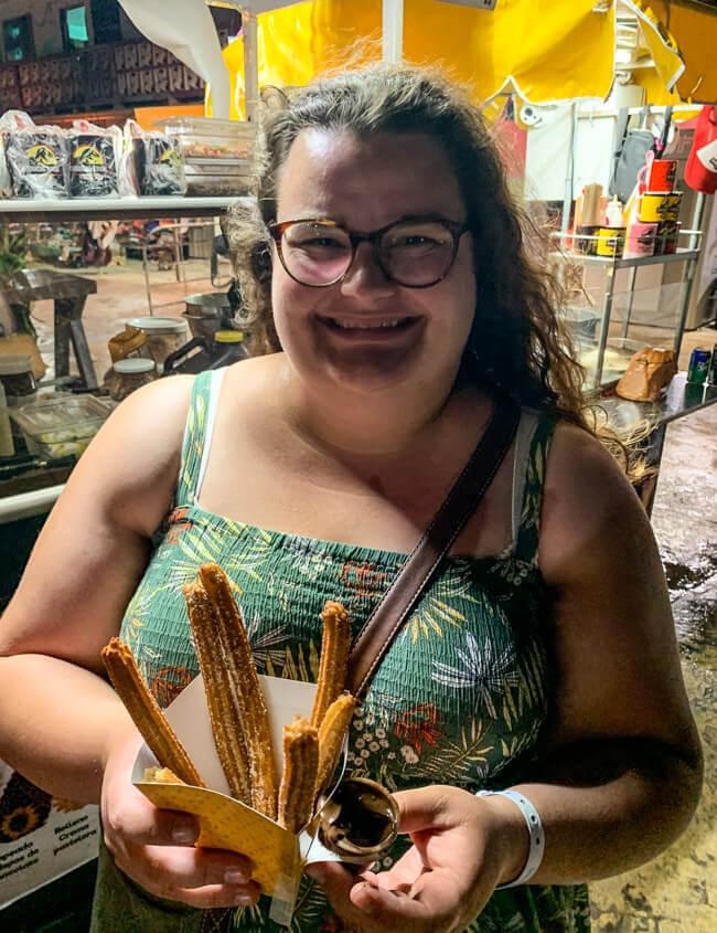 Mexiko Isla Mujeres Churros Churrosik Park