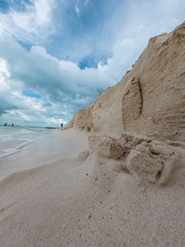 Isla Mujeres Traumstrand türkisblaues Meer Strand Karibik