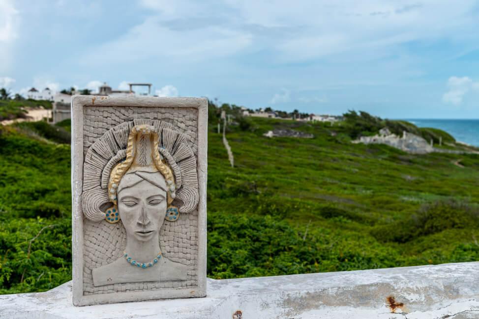 Mexiko Isla Mujeres Karibik Insel Punta Sur Meer türkisblau Landschaftsfotografie Küste