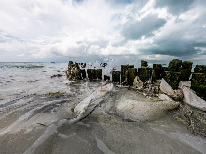 Isla Mujeres Traumstrand türkisblaues Meer Steg Strand Karibik