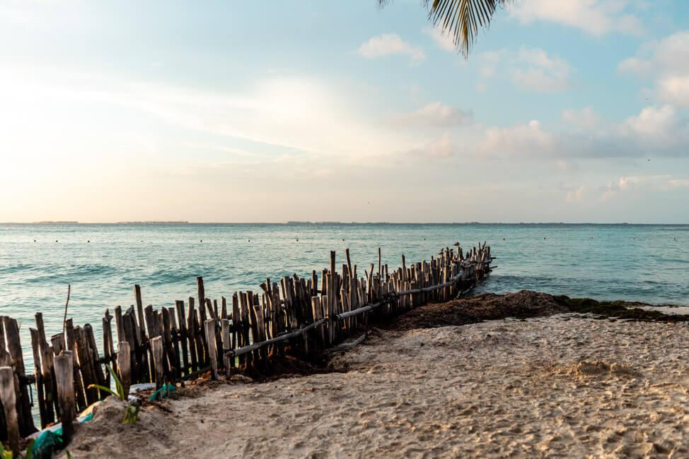 Mexiko Isla Mujeres Karibik Insel Playa Norte