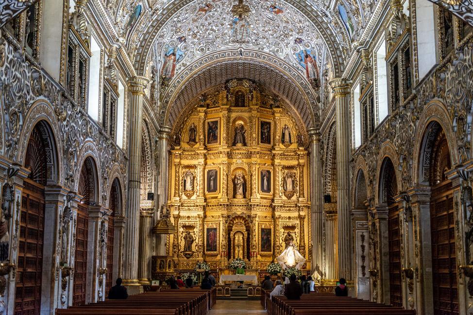 Oaxaca de Juaréz Mexiko Kirche Kathedrale Santo Domingo