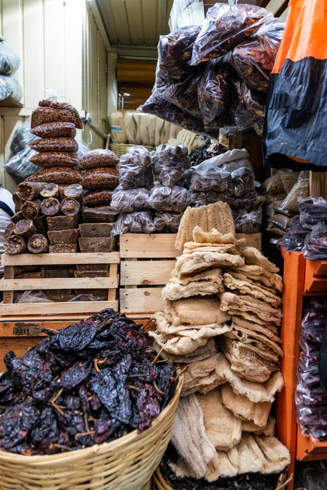 Oaxaca de Juaréz Mexiko Mercado de la Merced