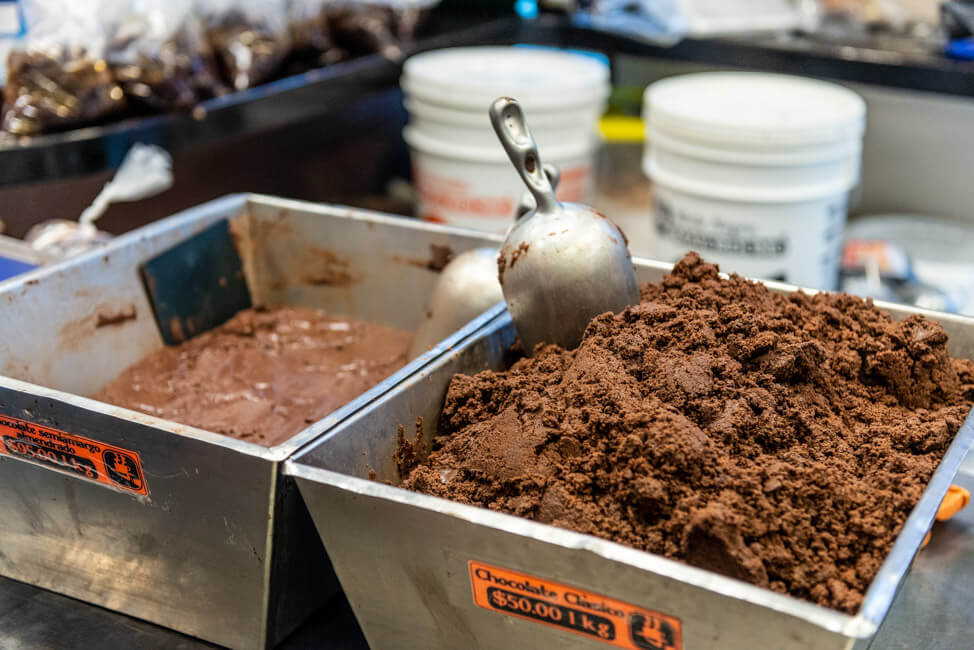 Oaxaca de Juaréz Mexiko Mayordomo Chocolateria