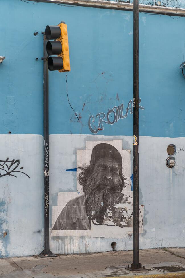 Oaxaca de Juaréz Mexiko Streetart