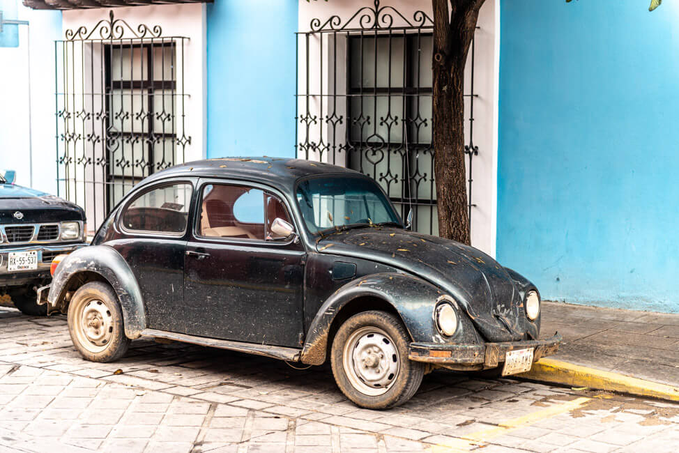 Oaxaca de Juaréz Mexiko VW Käfer