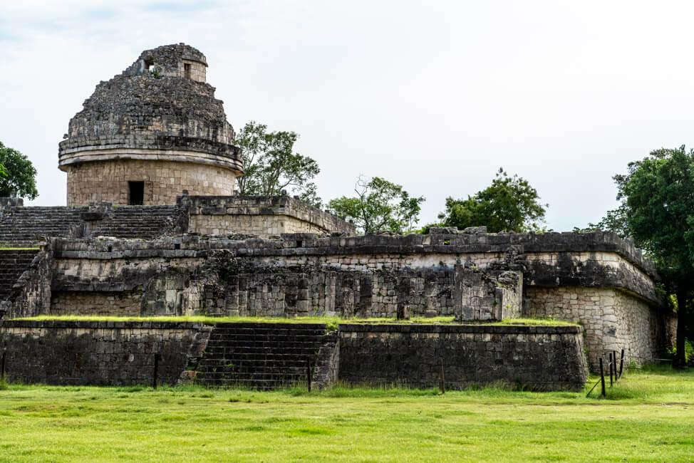 Mexiko Yucatan Chichén Itzá Ruinen MAya El Caracol Observatorium