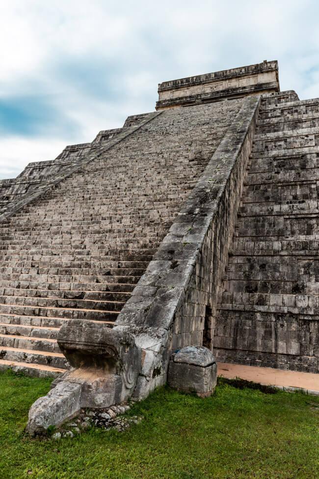 Chichén Itza Ruinen Mexiko Yucatan El Castillo