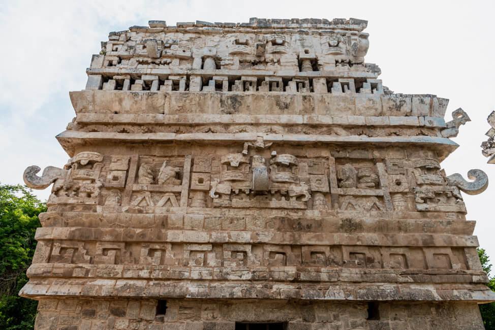 La Iglesia Chichén Itzá Maya Ruinen