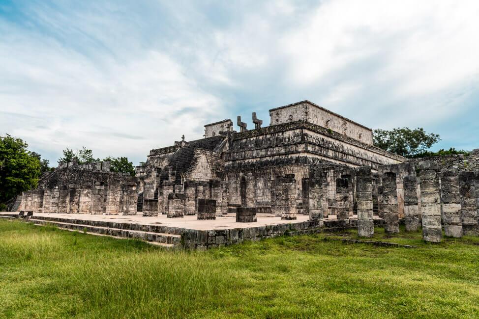 Chichén Itza Ruinen Mexiko Yucatan Templo de los Guerreros