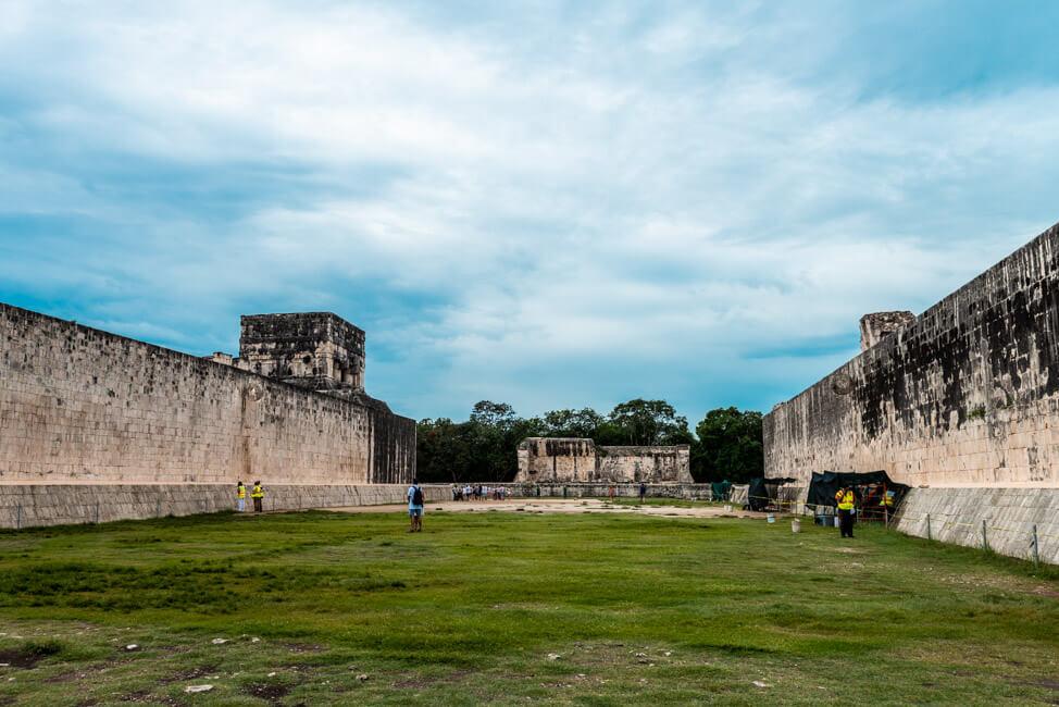 Chichén Itza Ruinen Mexiko Yucatan Gran Jueago de pelota