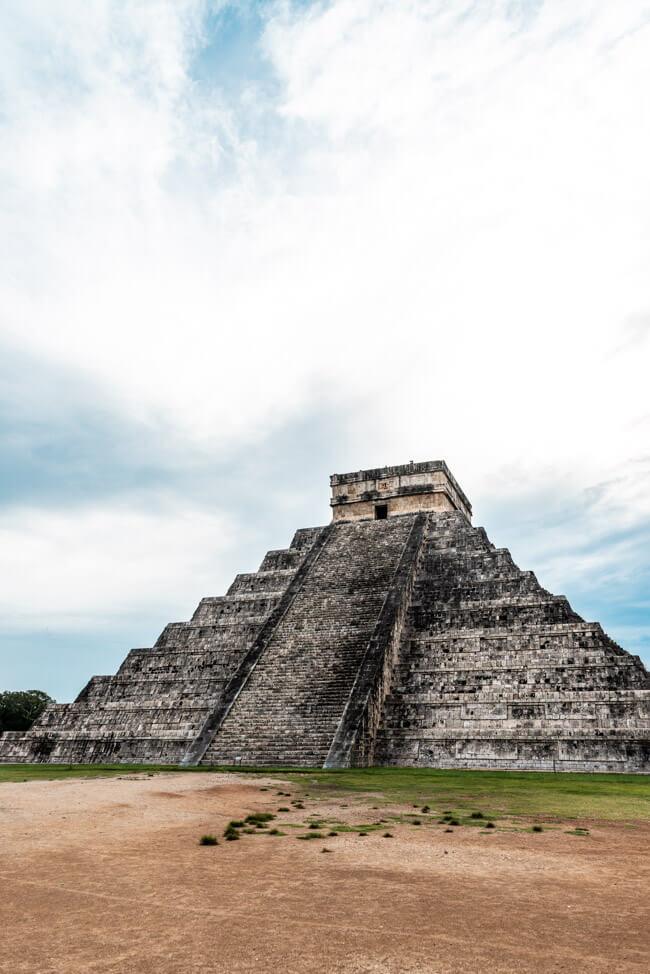 Chichén Itzá Maya Pyramide Wahrzeichen
