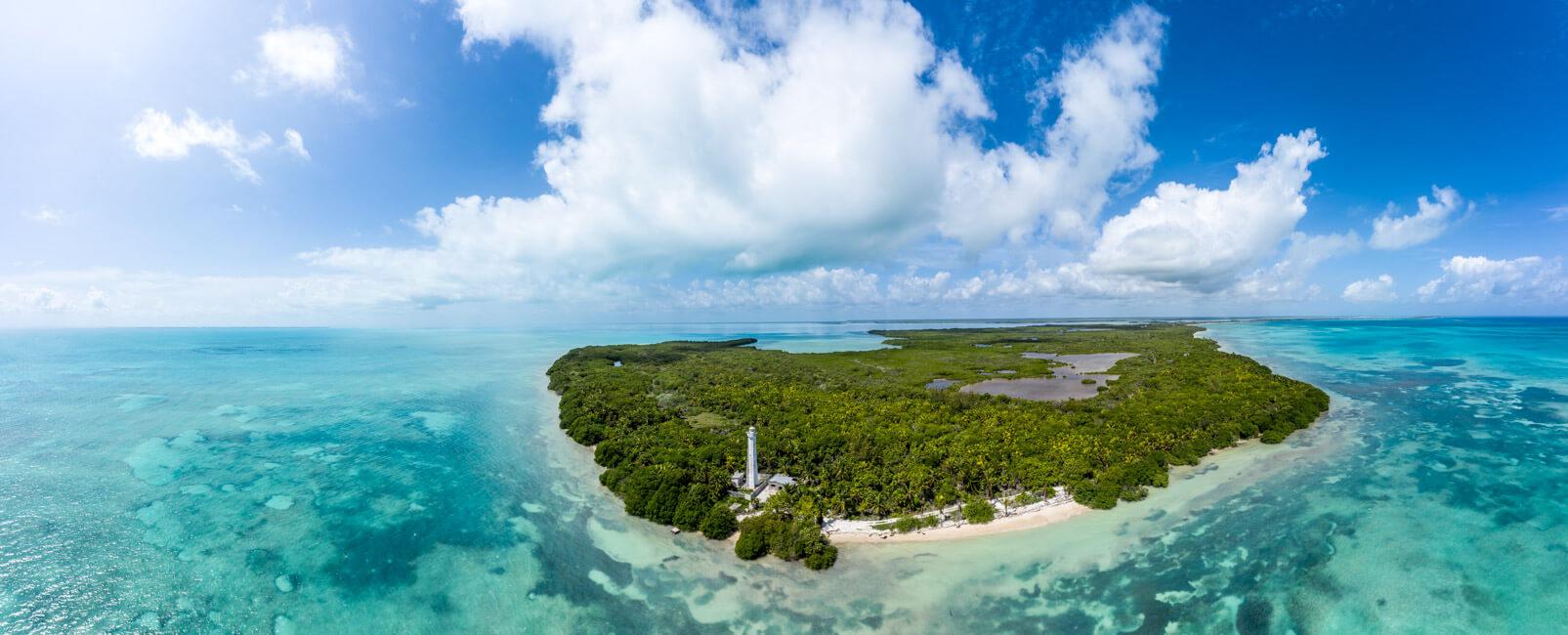 Punta Allen Sian Ka´an Nationalpark Lagune Meer