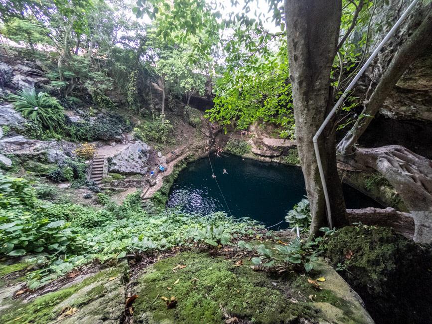 Valladolid Zentrum Cenote Zaci