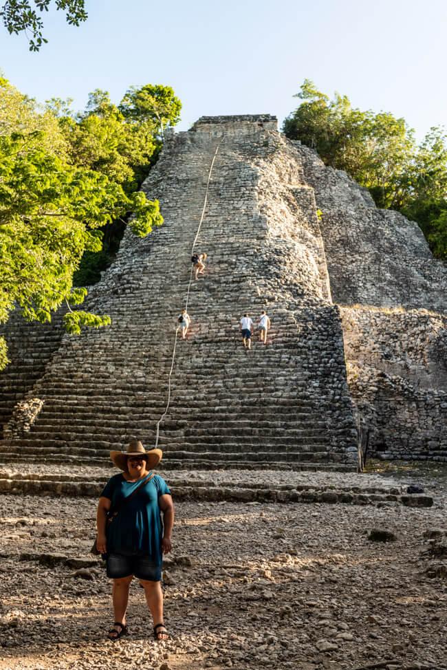 Ruinen von Coba Quintana Roo Yucatan Nohoch Mull Maya