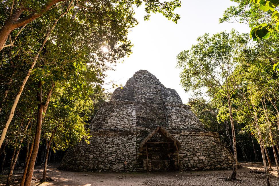 Ruinen von Coba Quintana Roo Yucatan Nohoch Mull