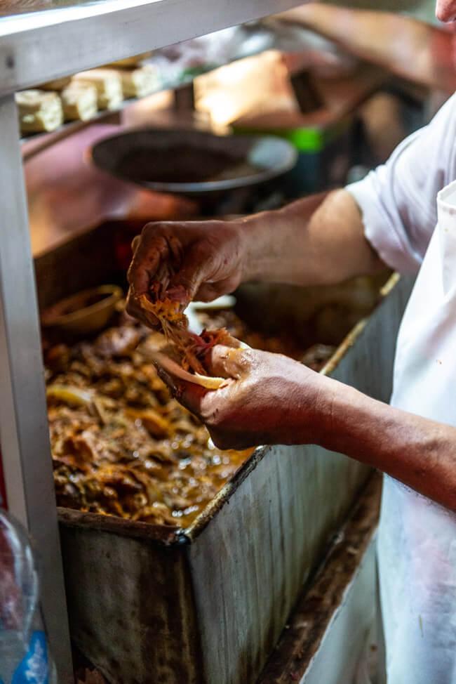 Valladolid Streetfood El Tigrilo Pulled Pork Polcanes Tacos