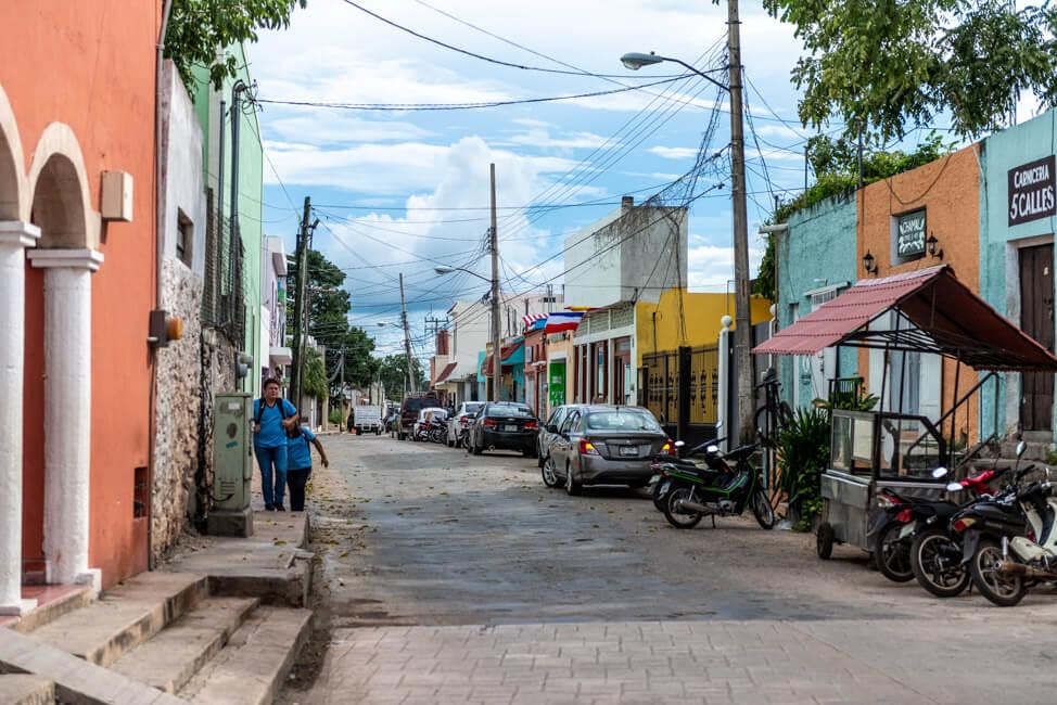 Valladolid Zentrum Straße