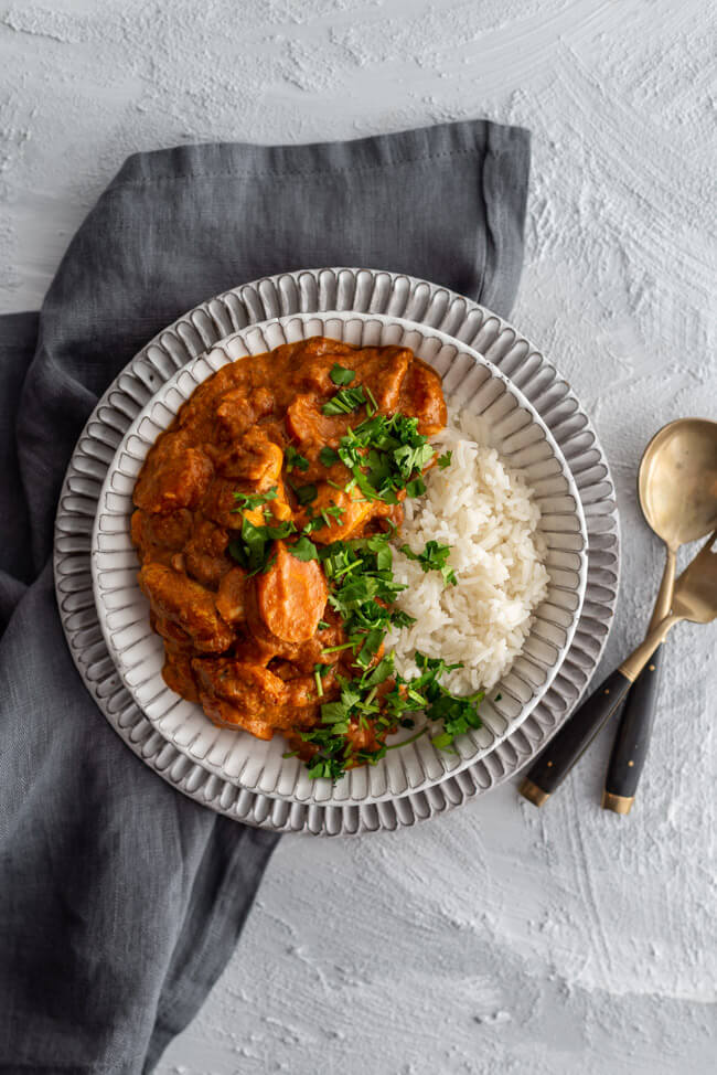 Indisches Butter Chicken Curry | LECKER&Co | Foodblog aus Nürnberg