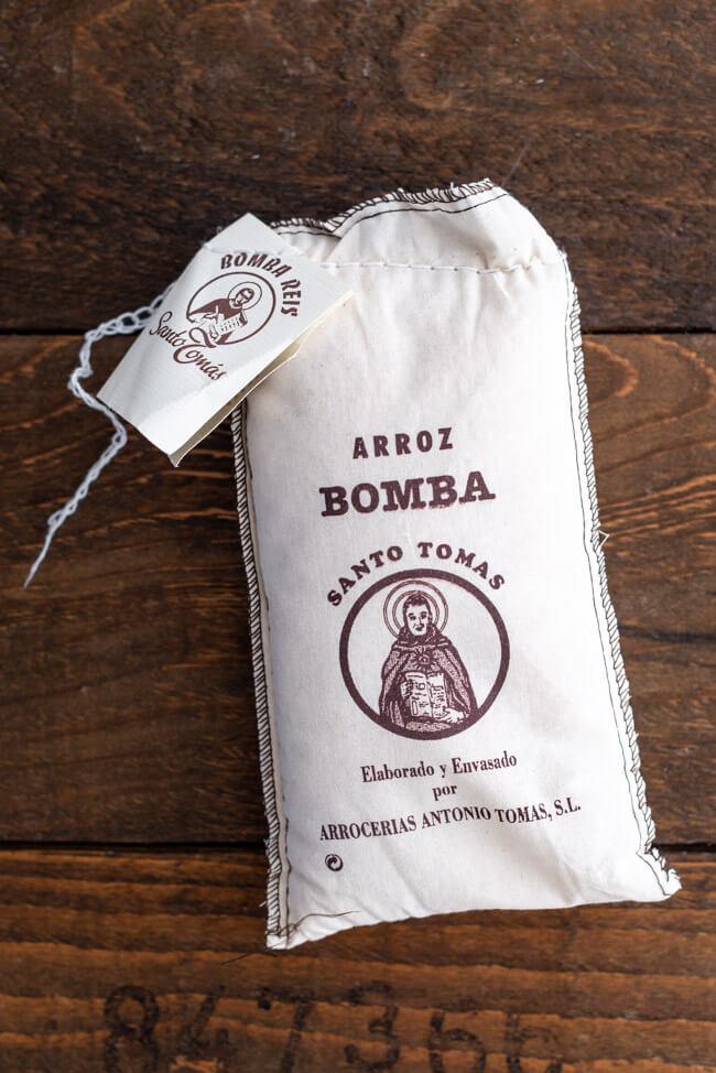 Arroz Bomba Reis für Paella Valenciana Santo Tomas Spanien