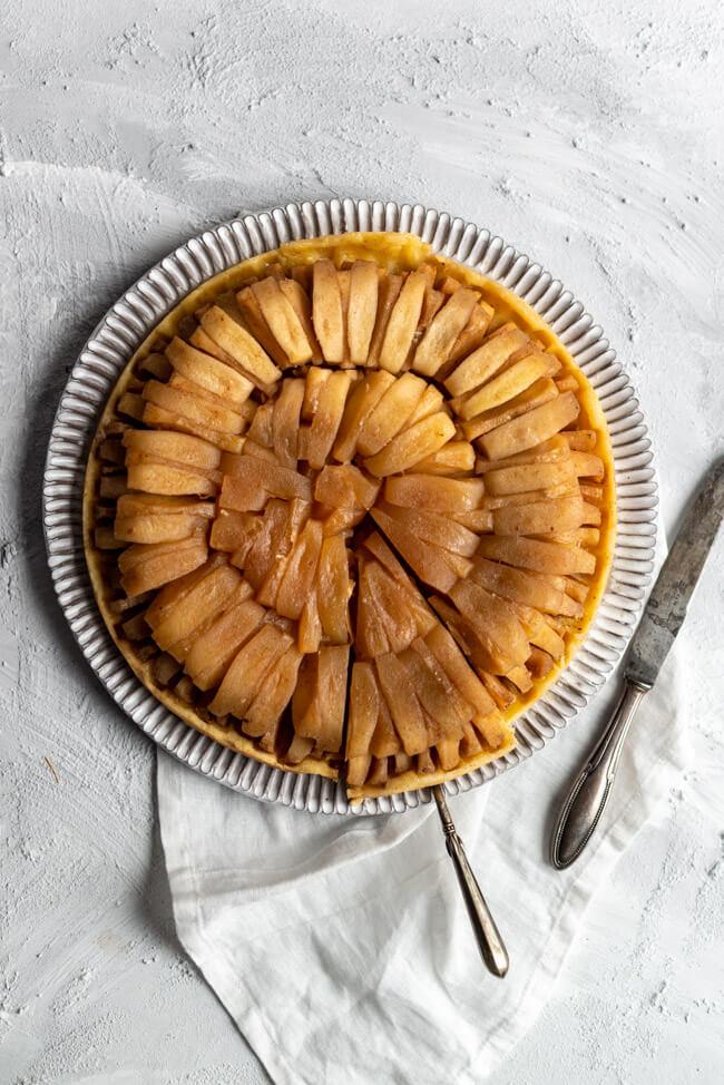 Tarte Tatin aus Kitchen Impossible WOlfgang Kuchler Tim Mälzer Schweiz Taverne zum Schäfli Kuchenklassier Backen Karamell Apfelkuchen