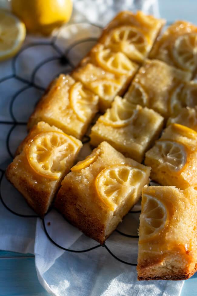 Zitronen Upside Down Kuchen | LECKER&Co | Foodblog aus Nürnberg
