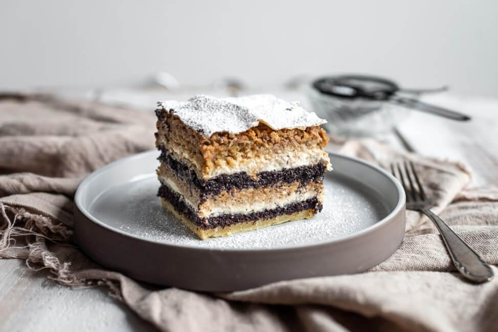 Slowenischer Schichtkuchen | Prekmurska Gibanica