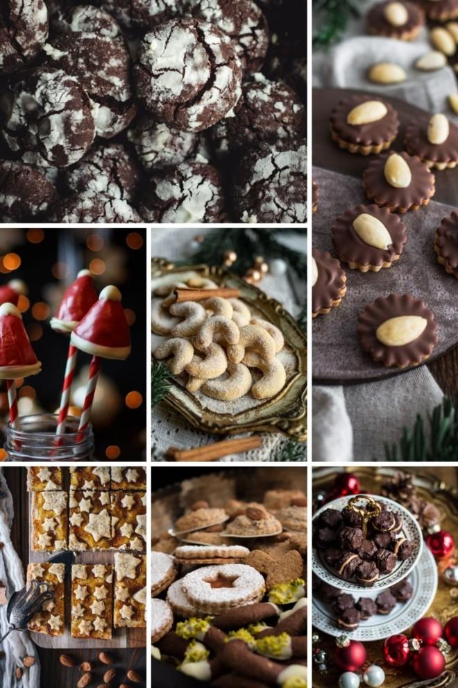 verschiedene Weihnachtsplätzchen von Tina von foodundco.de