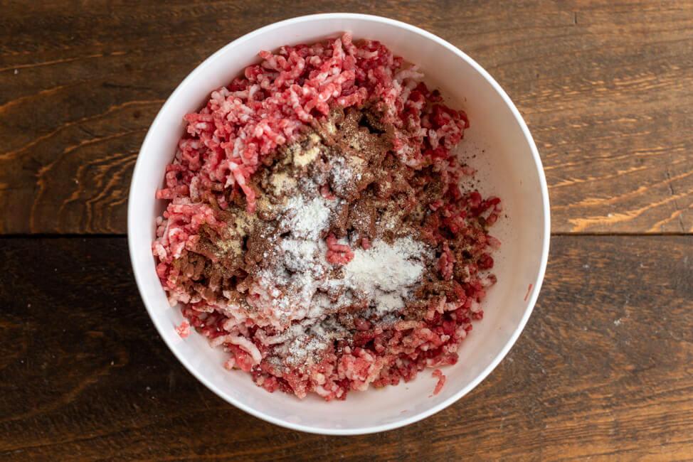 Brät für Lebkuchenwurst aus Kitchen Impossible.